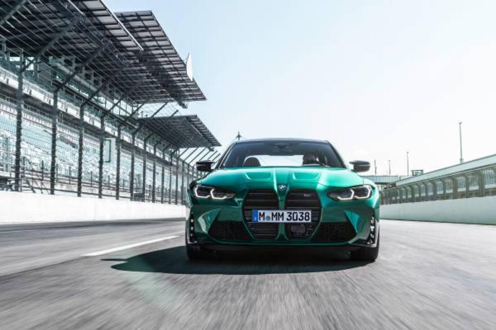 Foto de BMW M3 Competition 2021 (8/40)