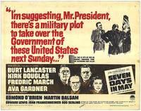 Añorando estrenos: 'Siete días de mayo' de John Frankenheimer