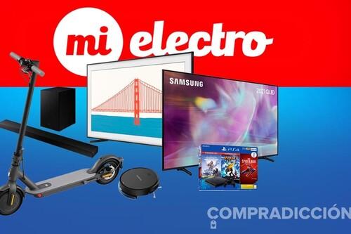 Las ofertas MiElectro de la semana: smart TVs 2021 de Samsung, robots aspiradores Rowenta, patinetes Xiaomi o consolas Playstation a los mejores precios