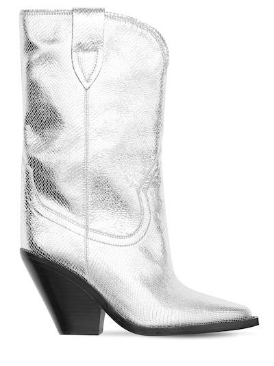 Botas metalizadas de Isabel Marant.