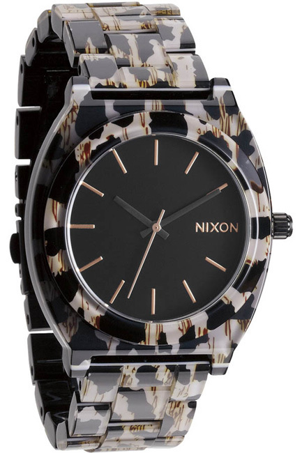 Nixon Time Teller Leopard