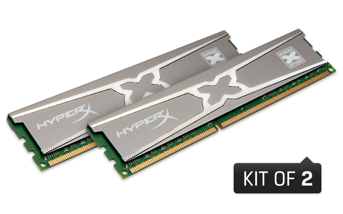 Foto de Kingston HyperX RAM 10th Year Anniversary Edition (1/4)