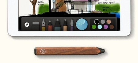 Pencil, el stylus de FiftyThree. Un complemento ideal para su app Paper
