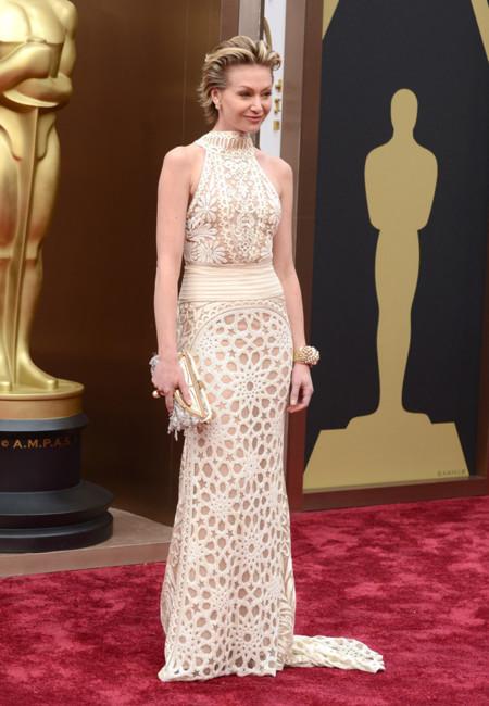 Las peor vestidas de la alfombra roja de los Oscar Portia de Rossi de Naeem Khan