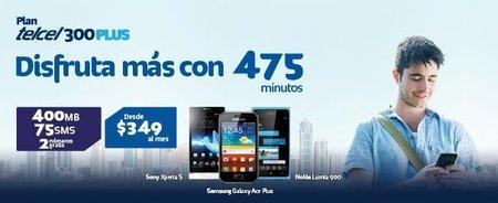 Telcel lanza el Plan Tecel 300 Plus