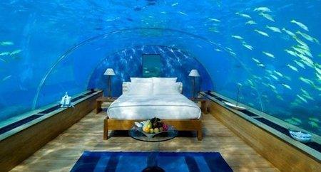 """Una suite submarina para pasar una noche """"única"""""""