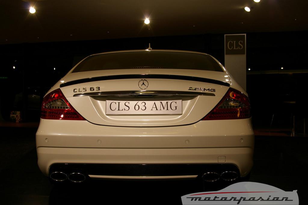 Foto de Mercedes-Benz CLS63 AMG en el salón de Ginebra (6/9)