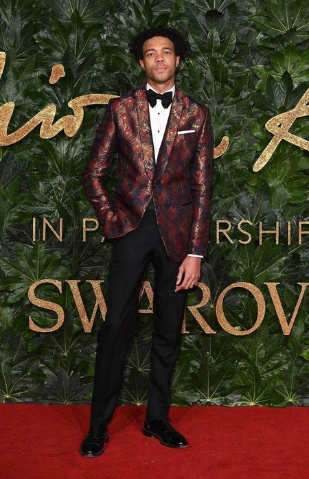 Charlie Caseley Hayford Alfombra Roja Red Carpet British Fashion Awards 2018