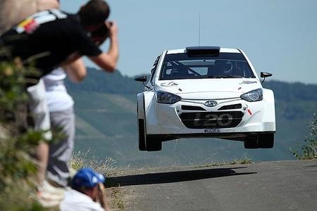Hyundai estrenará nuevas mejoras en el chasis para el Rallye de Alemania