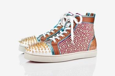 Las zapatilla con pinchos de Christian Loubotuin para la Primavera-Verano 2012