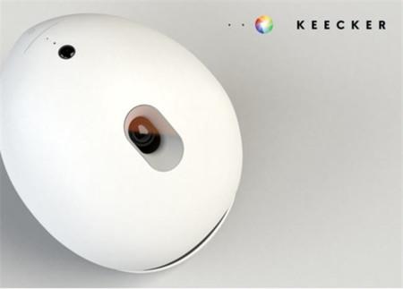 Keecker, el robot multimedia que quiere emular a R2D2