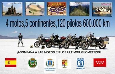 La Vuelta al Mundo BMW Riders llega a su fin en Madrid