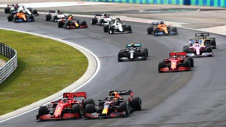 Verstappen Vettel Hungria F1 2020