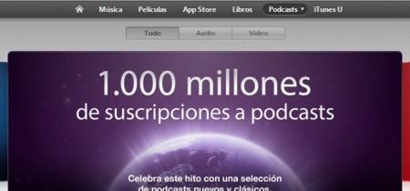 Apple sobrepasa los mil millones de suscripciones a podcasts