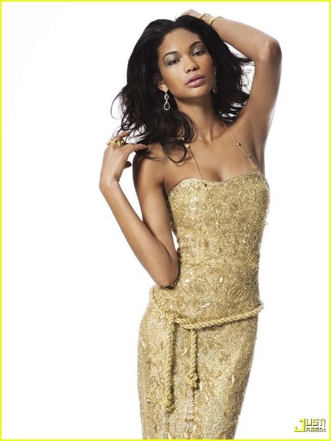 Foto de Chanel Iman en la revista Prestige (4/10)