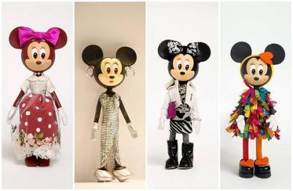 Se subastan los diseños de alta costura de Minnie