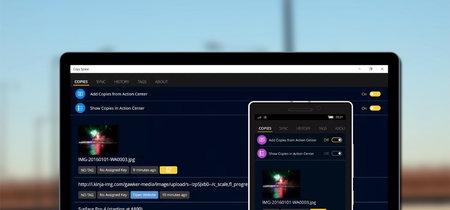 Copy Space: una app para sincronizar archivos y portapapeles entre Windows, Mac, Android y iOS