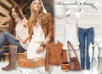 Stradivarius Primavera-Verano 2010: look romántico