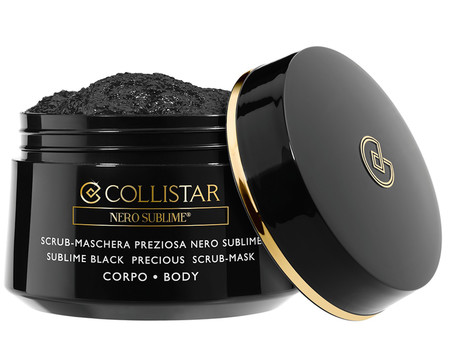 Sublime Black Precious Scrub Mask Body De Collistar
