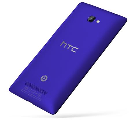HTC X8 Back