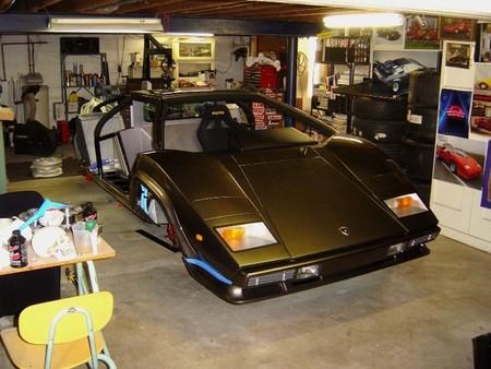 Lamborghini Countach réplica de Ken Imhoff