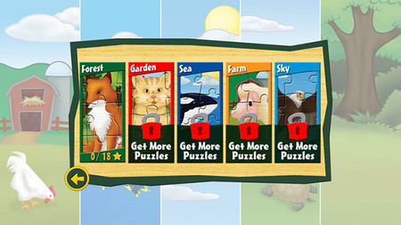 First Puzzles Lite: Animal Kingdom app