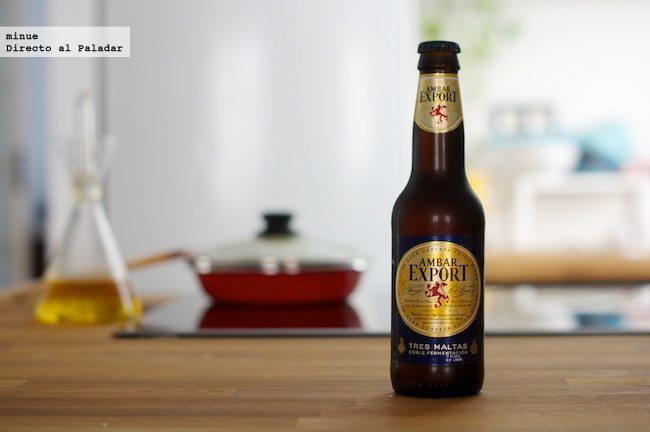 ambar expor - cata de cerveza - botella