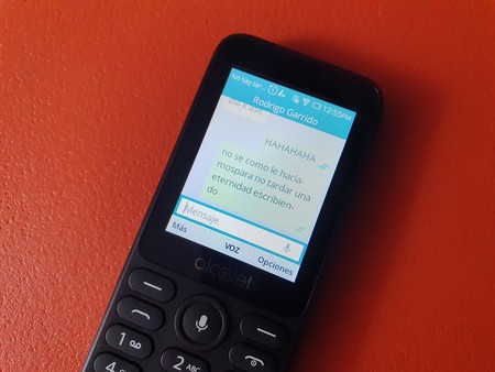 Alcatel 3078 Kaios Whatsapp Mensajes Mexico