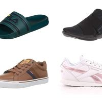 Chollos en tallas sueltas de chanclas y zapatillas Fila, Reebok, Under Armour y Levi's en Amazon