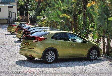 Honda Civic 2012, presentación y prueba en Málaga (parte 1)