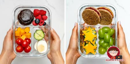 Ideas saludables para hacer el lunch de tus hijos este regreso a clases y durante el confinamiento