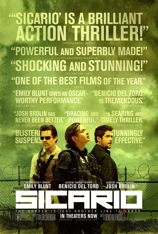 Foto de Todos los carteles de la película 'Sicario' (12/13)