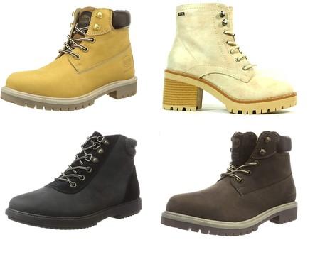 Chollos en tallas sueltas de botas Mustang, Dockers o Clarks por menos de 40 euros en Amazon