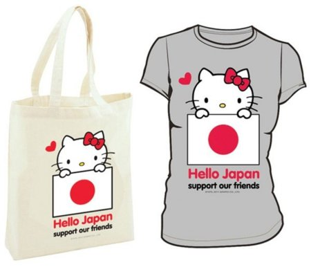 Hello Kitty solidaria con Japón