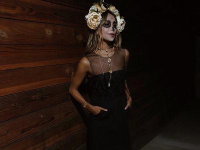 Sincerely Jules sabe cómo celebrar Halloween. Su maquillaje seguro que te va a inspirar mañana por la noche, ¿te animas?