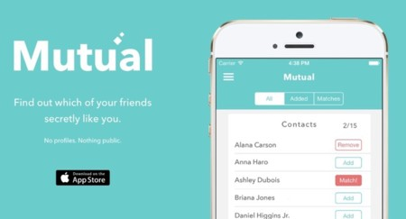 Mutual, la aplicación de ligues perfecta para los más introvertidos