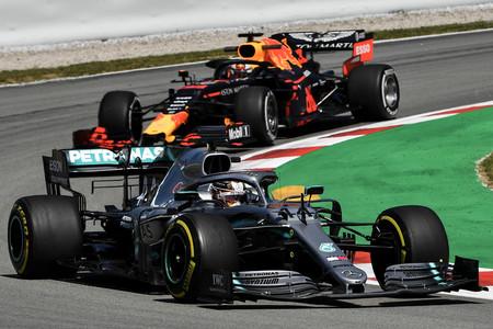Hamilton Verstappen Barcelona F1 2020