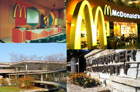 La Universidad de la Hamburguesa, Hamburger University McDonald´s