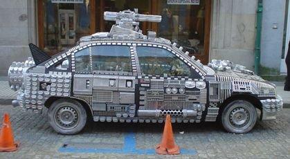 El coche más horroroso del mundo