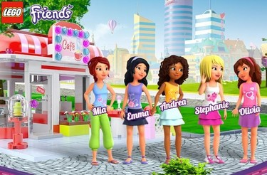 "Lego Friends, la ""línea femenina"" de Lego"