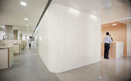Clínica dental aséptica - salas de consulta