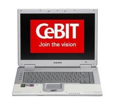 CeBIT 2006: Portátil Samsung con discos de tipo Flash