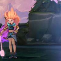 Zoe, la nueva campeona de League of Legends, parece sacada de los dibujos animados