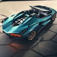 Lamborghini Sián Roadster: el toro de calle más potente sigue siendo un coche híbrido con supercondensador, pero ahora descapotable