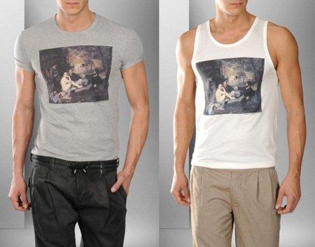 Una obra de Manet en las camisetas de D&G