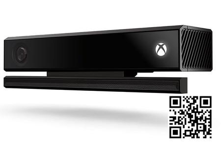 Kinect nos permitirá escanear códigos QR para descargar contenidos