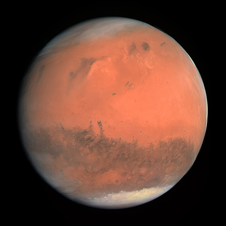 True Colour Image Of Mars Seen By Osiris