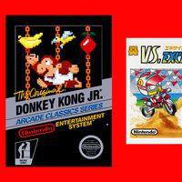 VS. Excitebike, Clu Clu Land y Donkey Kong Jr. aparecen listados como los juegos clásicos que se unen a Nintendo Switch Online este mes de mayo
