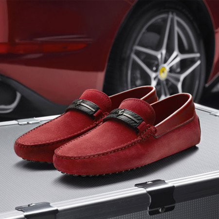 Tod S For Ferrari Collection Shoes Bags Accesories
