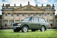 El primer Range Rover será subastado